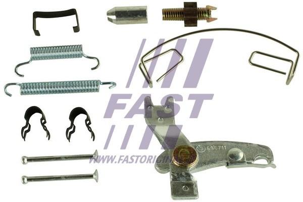 Zestaw akcesoriów, szczęki hamulcowe hamulca postojowego FAST FT32395